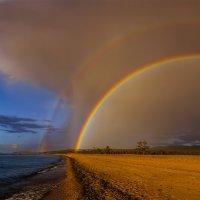 Байкальская радуга :: Альберт Беляев
