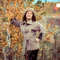 Госпожа осень :: Марина Корнова