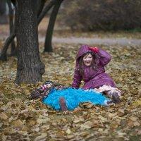 Осень в парке у Смольного... :: Владимир Питерский