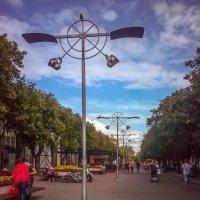 пешеходная улица в Елгаве :: Naty ...