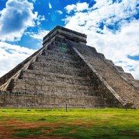 Мексика Чичен Итца Пирамида Майя :: Евгений Малюга