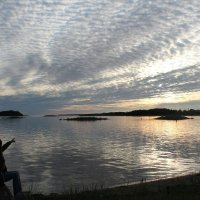 Потрясающее небо на Соловках :: Дарина Михеева