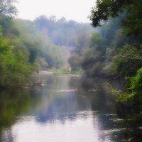 Вечерний туман над рекою :: Валентина Данилова