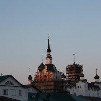 Ночью на Соловках :: Дарина Михеева