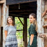 Мама с дочерью :: Оксана Демидова