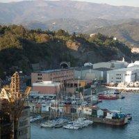 В порту Савона :: Natalia Harries