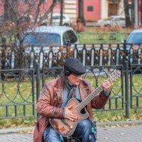 уличный музыкант :: Дмитрий Сушкин
