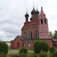 Храм Богоявления Господня  в Ярославле :: Galina Leskova