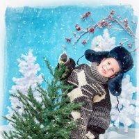 Новогодняя открытка 2016 :: Ирина