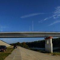 Мост через р. Западная Двина на кольцевой автодороге. :: Сергей *Витебск*