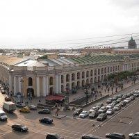 Любимый город с высоты птичьего полета :: Юрий Арасланов