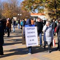 На митинге :: Владимир Болдырев