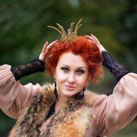 рыжая с короной :: Татьяна Кутеева