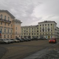 Маленький город в Сибири:) :: Владимир Звягин