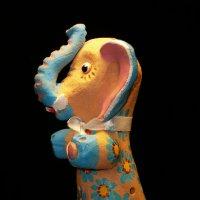 """Глиняная игрушка-свистулька""""Слон"""" :: Galina Belugina"""