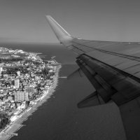 а под крылом самолета.... :: Svetlana AS