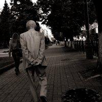 Пожилой джентльмен :: Ксения Клындюк