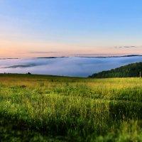 там , за туманами ... :: Марина Юдинских