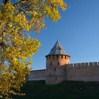 Осень в Новгородском Кремле (этюд 7) :: Константин Жирнов