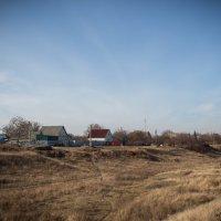 У оврага на краю села. :: Сергей Касимов