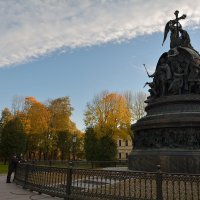 Осень в Новгородском Кремле (этюд 10) :: Константин Жирнов