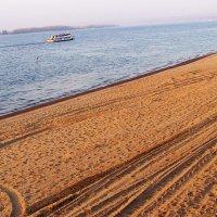 Пляж осенью :: Александр Алексеев