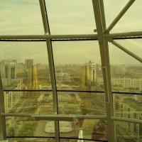 Астана с высоты Байтерека :: людмила дзюба
