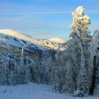 Горный зимний пейзаж :: Милешкин Владимир Алексеевич
