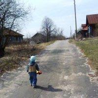 Матвейка на прогулке :: Mary Коллар