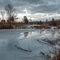 Суровый сибирский пейзаж :: Оксана Арискина