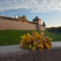 Осень в Новгородском Кремле (этюд 17) :: Константин Жирнов