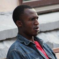 ...Просто парень темнокожий..... :: Дмитрий Иншин