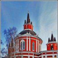 Церковь Николая Чудотворца в Царёво :: Дмитрий Анцыферов