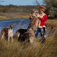 ...на псовой охоте :: Виктор Перякин