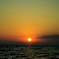 Закат на море :: Светлана