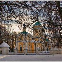 Церковь Иоанна Богослова в Богословском-Могильцах, 1767 :: Дмитрий Анцыферов