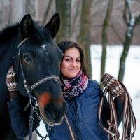 Прогулка на лошадях :: Сергей Богданов