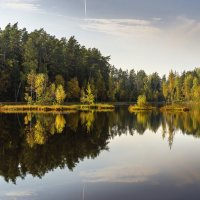 Подмосковный пейзаж :: Борис Гольдберг