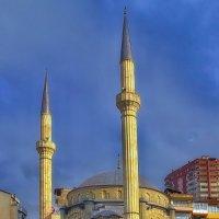 Закат на перекрестке у мечети :: M Marikfoto