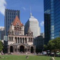 Церковь Св.Троицы (1877 г., Бостон, США) :: Юрий Поляков