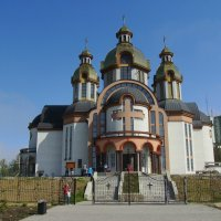 Греко - католический  собор  в  Ивано - Франковске :: Андрей  Васильевич Коляскин
