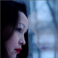 портрет нарисованный стеклом :: Елена Никитенко