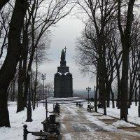 Зима на Владимирской горке :: Владимир Бровко