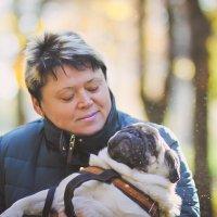 Мама с Лемоном :: Татьяна Садыкова