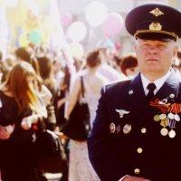 Ветеран на параде в Липецке :: Константин Козлов