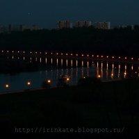 Вдаль по ночной реке... :: Ирина Терентьева