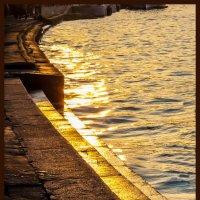 Позолота набережной :: Наталья Rosenwasser