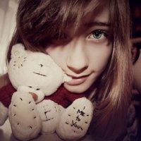 С мишкой с: :: Лайма Саватнеева