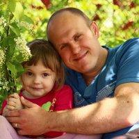 отец и дочь... :: Наталья Щербакова