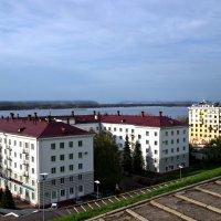 Дома на набережной. :: Сергей Исаенко